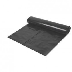 Polythene Damp Proof Membrane 1200g Black 4m x 25m Roll