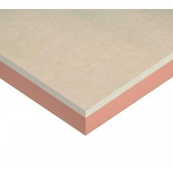 PIR Insulated Plasterboard – 1200 x 2400 x 42.5mm (30mm +...